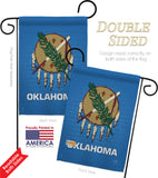 Oklahoma - States Americana Vertical Impressions Decorative Flags HG108131 Made In USA