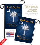 South Carolina - States Americana Vertical Impressions Decorative Flags HG108148 Made In USA