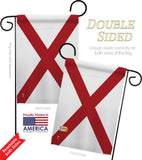 Alabama - States Americana Vertical Impressions Decorative Flags HG140501 Made In USA