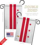 District of Columbia - States Americana Vertical Impressions Decorative Flags HG140509 Made In USA