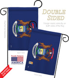 Michigan - States Americana Vertical Impressions Decorative Flags HG140523 Made In USA