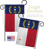 North Carolina - States Americana Vertical Impressions Decorative Flags HG140534 Made In USA