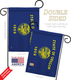Oregon - States Americana Vertical Impressions Decorative Flags HG140538 Made In USA