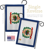 West Virginia - States Americana Vertical Impressions Decorative Flags HG140549 Made In USA