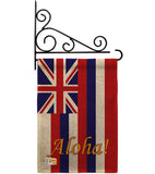 Hawaii - States Americana Vertical Impressions Decorative Flags HG108121 Made In USA