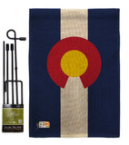 Colorado - States Americana Vertical Impressions Decorative Flags HG140506 Made In USA