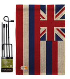 Hawaii - States Americana Vertical Impressions Decorative Flags HG140512 Made In USA