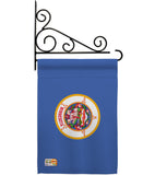 Minnesota - States Americana Vertical Impressions Decorative Flags HG140524 Made In USA