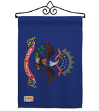 North Dakota - States Americana Vertical Impressions Decorative Flags HG140535 Made In USA