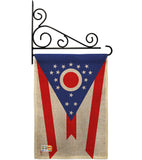 Ohio - States Americana Vertical Impressions Decorative Flags HG140536 Made In USA