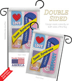 Down Syndrome - Support Inspirational Vertical Impressions Decorative Flags HG115088 Made In USA