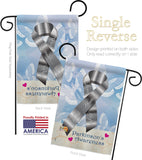 Parkinson's - Support Inspirational Vertical Impressions Decorative Flags HG115094 Made In USA
