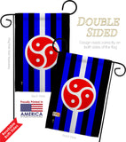 BDSM rights - Support Inspirational Vertical Impressions Decorative Flags HG148003 Made In USA