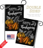 Suzani Thanksgiving - Thanksgiving Fall Vertical Impressions Decorative Flags HG192258 Made In USA