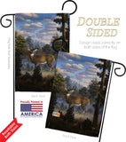 Morning Light - Wildlife Nature Vertical Impressions Decorative Flags HG110061 Made In USA