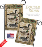Ducks and Geese - Wildlife Nature Vertical Impressions Decorative Flags HG110108 Made In USA