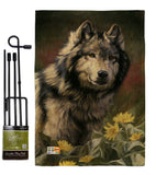 Wild Spirit - Wildlife Nature Vertical Impressions Decorative Flags HG110083 Made In USA