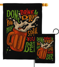 Don't Drink Beer - Beverages Happy Hour & Drinks Vertical Impressions Decorative Flags HG192300 Made In USA
