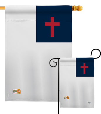 Christian - Faith & Religious Inspirational Vertical Impressions Decorative Flags HG103049 Made In USA