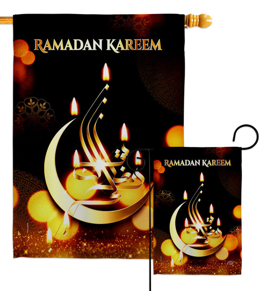 Month of Ramadan - Faith & Religious Inspirational Vertical Impressions Decorative Flags HG192528 Made In USA
