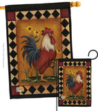 Rooster - Farm Animals Nature Vertical Impressions Decorative Flags HG110073 Made In USA