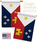 Acadiana - Fleur De Lys Interests Vertical Impressions Decorative Flags HG118008 Made In USA