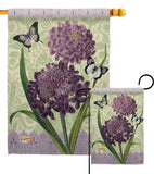 Iberis - Floral Spring Vertical Impressions Decorative Flags HG104079 Made In USA