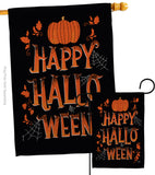 Halloween Night - Halloween Fall Vertical Impressions Decorative Flags HG112099 Made In USA
