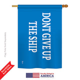 Commodore Perry - Historic Americana Vertical Impressions Decorative Flags HG140710 Printed In USA