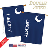 Fort Moultrie - Historic Americana Vertical Impressions Decorative Flags HG140714 Printed In USA