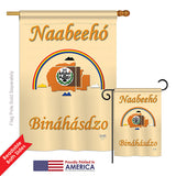 Navajo Nation - Historic Americana Vertical Impressions Decorative Flags HG108173 Printed In USA