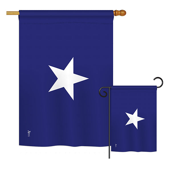 Bonnie Blue - Historic Americana Vertical Impressions Decorative Flags HG140687 Printed In USA