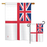 British Navy - Historical Flags of the World Vertical Impressions Decorative Flags HG140706 Printed In USA