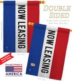 Now Leasing - Merchant Special Occasion Vertical Impressions Decorative Flags HG140790 Made In USA