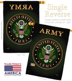 Army - Military Americana Vertical Impressions Decorative Flags HG108055 Made In USA