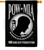 POW / MIA - Military Americana Vertical Impressions Decorative Flags HG108062