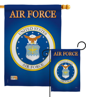 Air Force - Military Americana Vertical Impressions Decorative Flags HG108054 Imported