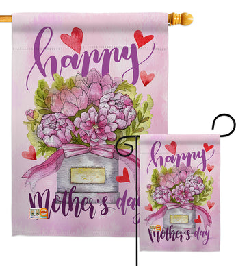 Mommy Love You - Mother's Day Summer Vertical Impressions Decorative Flags HG192163 Made In USA