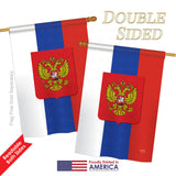 Russia - Nationality Flags of the World Vertical Impressions Decorative Flags HG108124 Printed In USA
