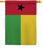 Guinea-Bissau - Nationality Flags of the World Vertical Impressions Decorative Flags HG140101 Printed In USA