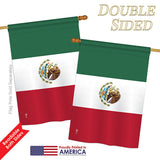 Mexico - Nationality Flags of the World Vertical Impressions Decorative Flags HG140154 Printed In USA