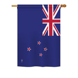 New Zealand - Nationality Flags of the World Vertical Impressions Decorative Flags HG140168 Printed In USA