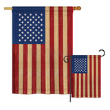 USA Vintage - Nationality Flags of the World Vertical Impressions Decorative Flags HG108029 Printed In USA