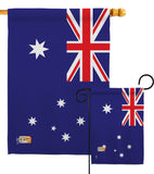 Australia - Nationality Flags of the World Vertical Impressions Decorative Flags HG140015 Made In USA