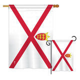 Jersey - Nationality Flags of the World Vertical Impressions Decorative Flags HG140122 Printed In USA