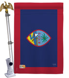 Guam - Nationality Flags of the World Vertical Impressions Decorative Flags HG108353 Made In USA