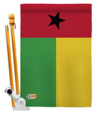 Guinea-Bissau - Nationality Flags of the World Vertical Impressions Decorative Flags HG140101 Made In USA