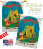 Making Memories - Outdoor Nature Vertical Impressions Decorative Flags HG109047 Made In USA