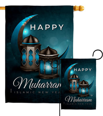 Day of Ashura - Party & Celebration Special Occasion Vertical Impressions Decorative Flags HG192590 Made In USA
