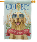 Golden Pale Ale - Pets Nature Vertical Impressions Decorative Flags HG110100 Made In USA